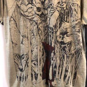 Little Red Riding Hood size xxl Shirt NWOT